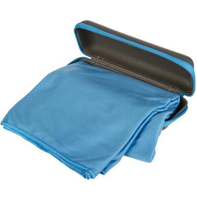 Rock Creek Blue Microfiber Camp Towel, Extra Large