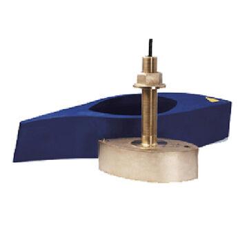 Furuno 1kW Bronze Broadband Thru-Hull Transducer w/Temp, Fairing Block