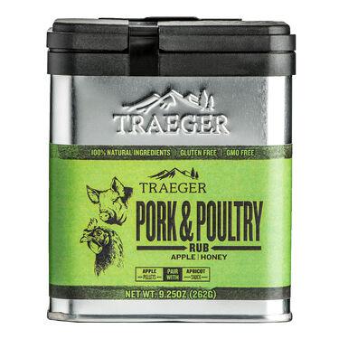 Pork & Poultry Treager Rub, 9.25 oz.