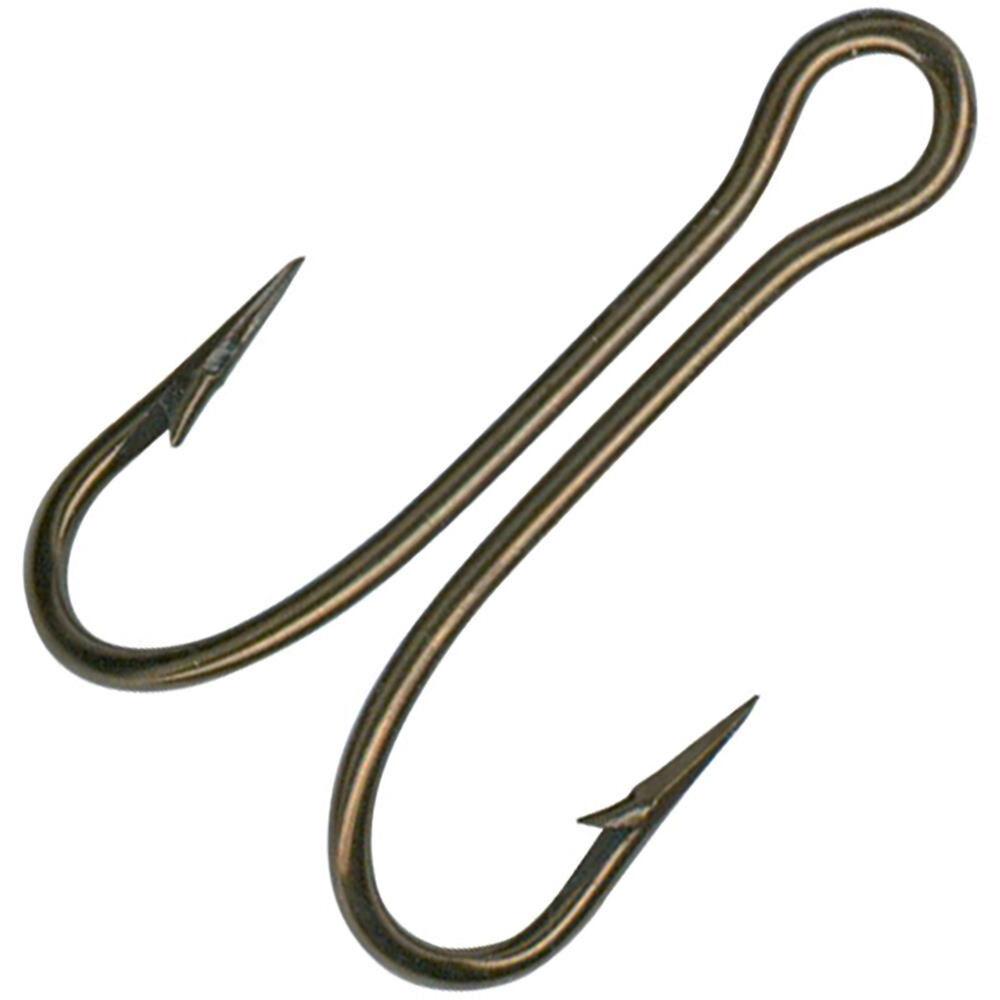 Mustad Double Hook   Overtons