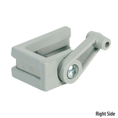 """Pontoon Boat Safety Gate Latch, Right-Side Latch for 1-1/8"""" Rail"""