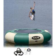 RAVE 15' Aqua Jump 150 Water Trampoline, Northwoods Edition