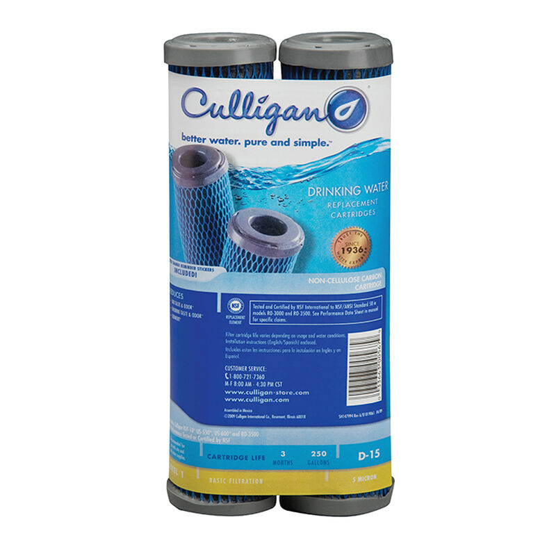 Culligan D-15 Replacement Water Filter Cartridge image number 1