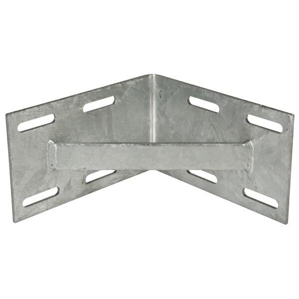 """Standard-Grade 3/16"""" Floating Dock Hardware - Inside Corner"""