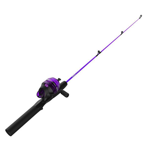 Zebco Dock Demon Spinning Combo, Purple