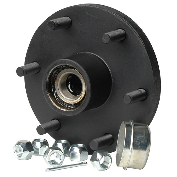 Smith 6-Stud Trailer Hub Kit With Tapered Spindle