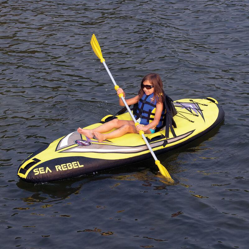 RAVE Sea Rebel Inflatable Kayak image number 2