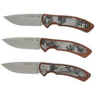 Old Timer Wood Etch Folding Knife, 3 pck.