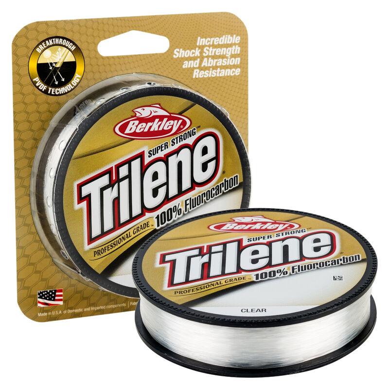 Berkley Trilene Professional Grade Fluorocarbon Line, Clear, 200 Yards image number 1