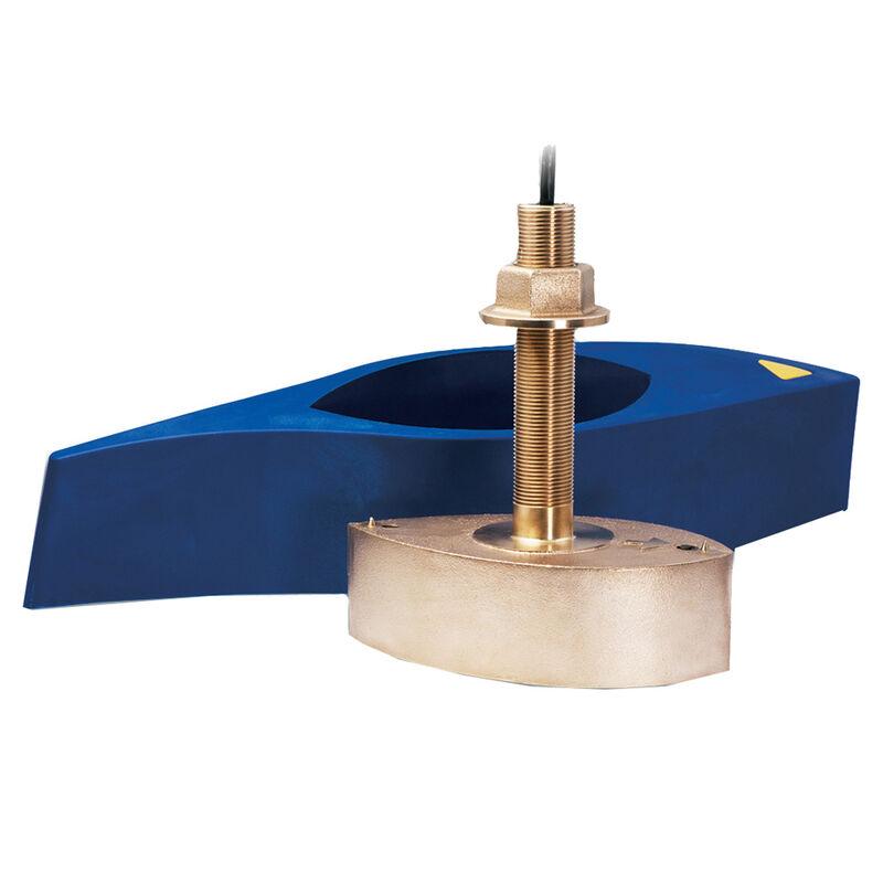 Raymarine B258 1kW High-Performance Thru-Hull Depth/Temp Transducer with Fairing image number 1