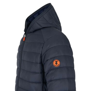 Save The Duck Men's Giga Mid Quilted Winter Coat