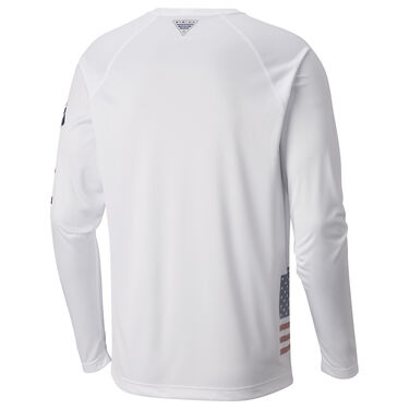 Columbia Men's PFG Fish Series Terminal Tackle Long-Sleeve Tee