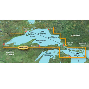 Garmin BlueChart g2 Vision - Lake Superior