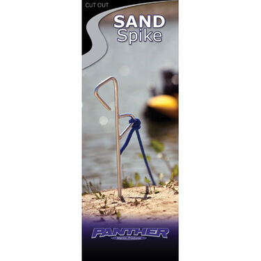 Shore Spike Boat Anchor With 25' Rope