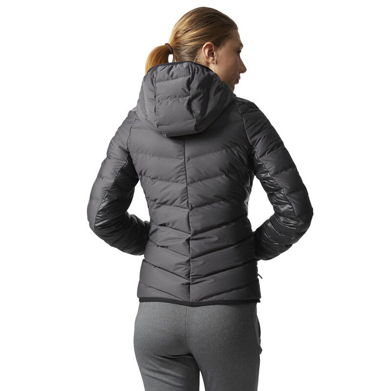Adidas Women's Nuvic Hooded Down Jacket image number 6