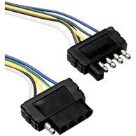 """Reese Towpower 5-Way Towing Wireless Harness Flat Connector Loop, 60"""""""