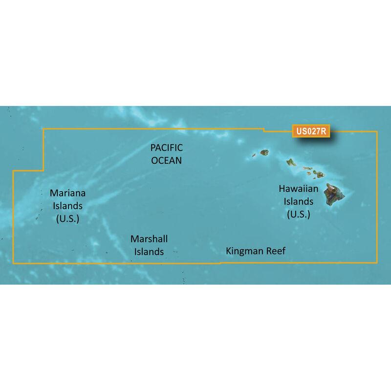 Garmin BlueChart g2 HD Cartography, Hawaiian Islands - Mariana Islands image number 1