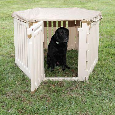 Convertible Indoor/Outdoor Pet Playpen