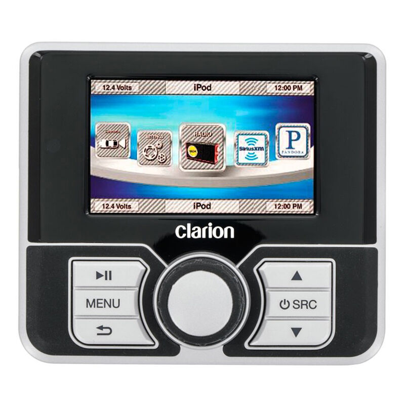 """Clarion MW4 Watertight Wired Remote With 2.8"""" Color LCD image number 1"""