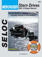 Seloc Marine Stern Drive & Inboard Repair Manual for Mercruiser '01 - '13