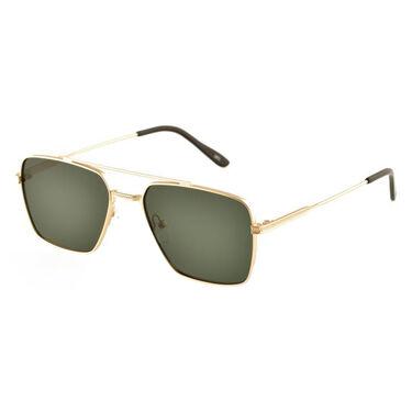 Ellison Eyewear Pablo Square Aviator Polarized Sunglasses