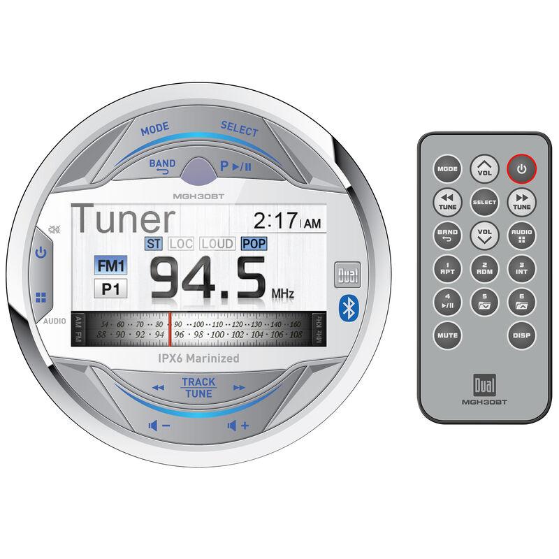 Dual MGH30BT AM/FM/USB/MP3/WMA Bluetooth Receiver image number 1
