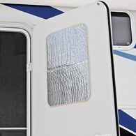 """Solar Entry Door Window Cover, 24"""" x 16"""""""