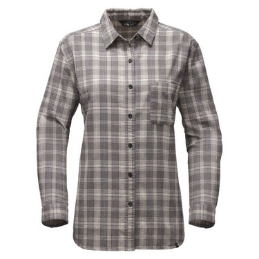 The North Face Women's Long-Sleeve Boyfriend Shirt