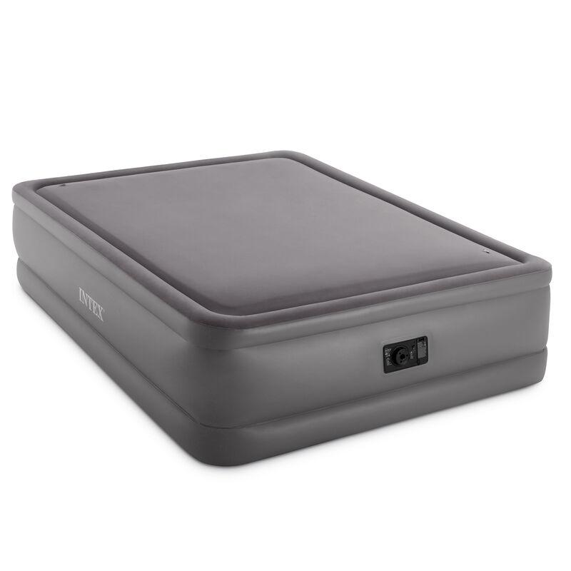 Intex Dura-Beam Foam-Top Airbed with Fiber-Tech, Built-In Pump, Queen image number 1