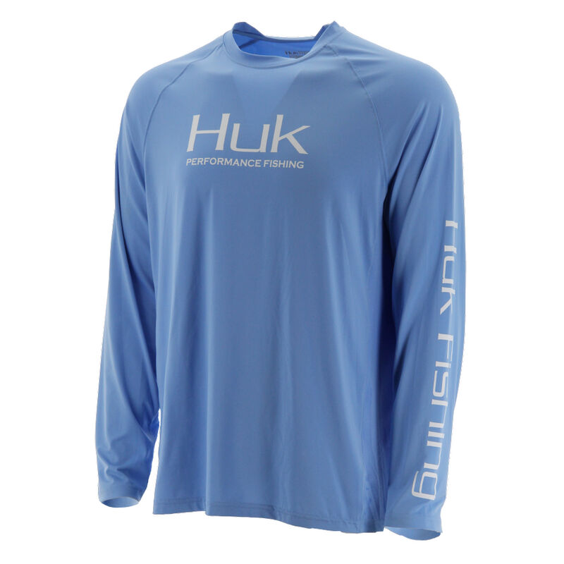 HUK Men's Pursuit Vented Long-Sleeve Tee image number 1