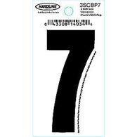"Hardline 3"" Vinyl Boat Numbering 3SCBP7"