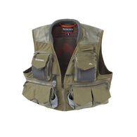 Simms Hex Camo Loden Guide Fishing Vest, XXL