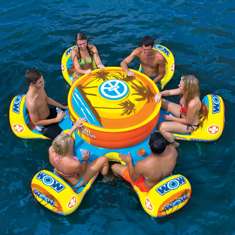 WOW Octo Island 6-Person Floating Table image number 5