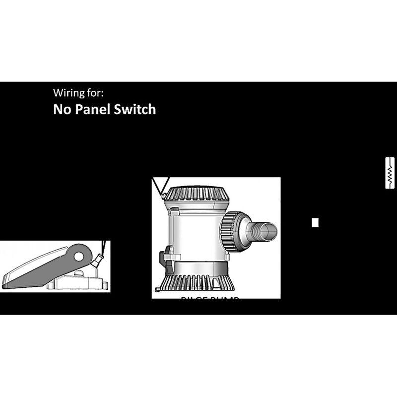 TRAC Submersible Thru-Hull 600 GPH Bilge Pump image number 3