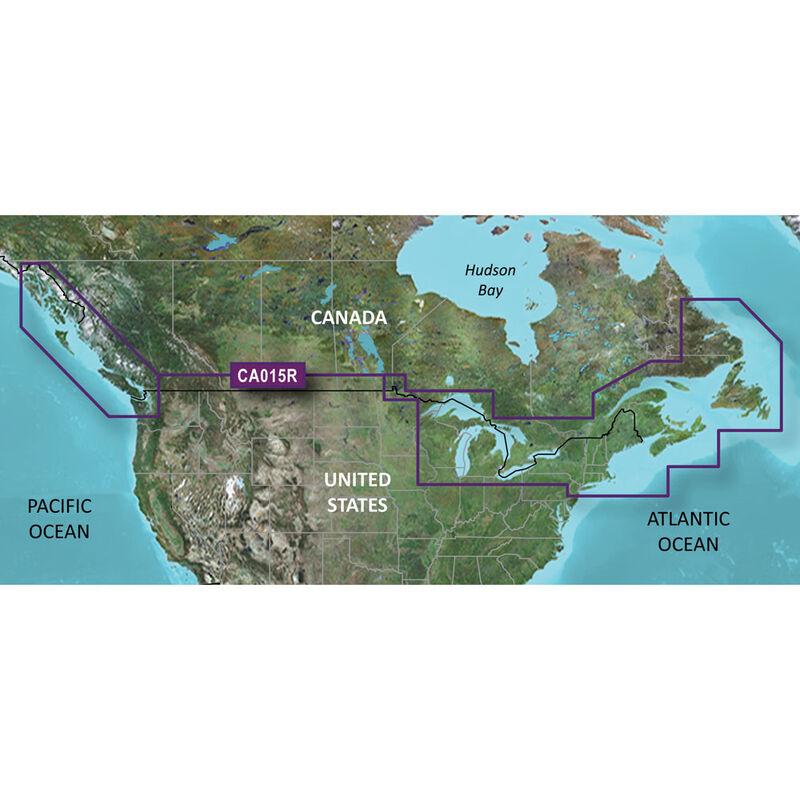 Garmin BlueChart g2 HD Cartography, Canada image number 1
