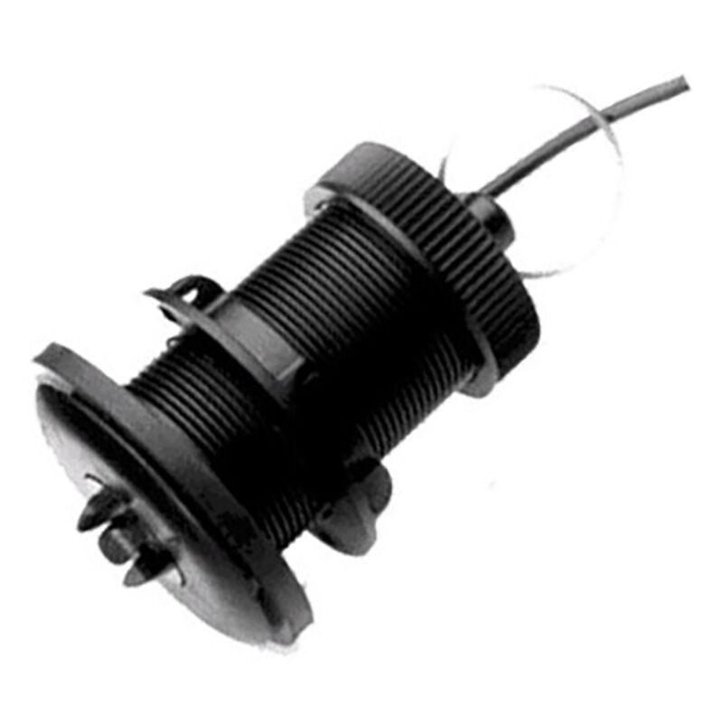 Raymarine P120-ST800 Low-Profile Plastic Thru-Hull Speed & Temp Transducer image number 1
