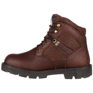 "Georgia Boots Men's Homeland Waterproof 6"" Steel-Toe Work Boot"