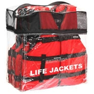 Airhead Adult General Boating Life Vest 4-Pack