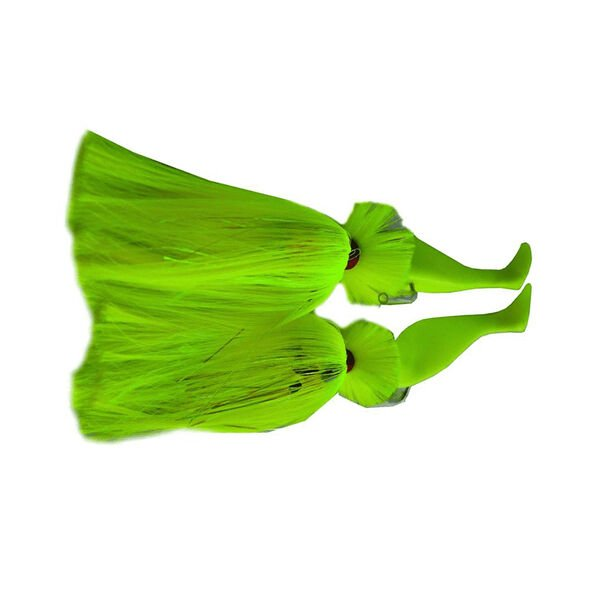 """Rock Fish Candy Tandem Parachute Rig with 6"""" & 9"""" Shads, 6 oz. x 2 oz."""