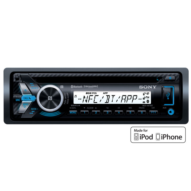 Sony MEX-M70BT Dual USB Stereo Receiver With Bluetooth and Voice User Interface image number 1