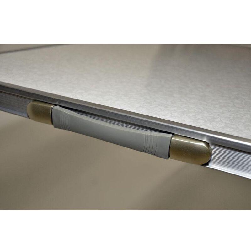 Fold 'N Half Aluminum Table, 5' image number 5