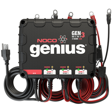 NOCO GENM3 3-Bank Mini Onboard Battery Charger