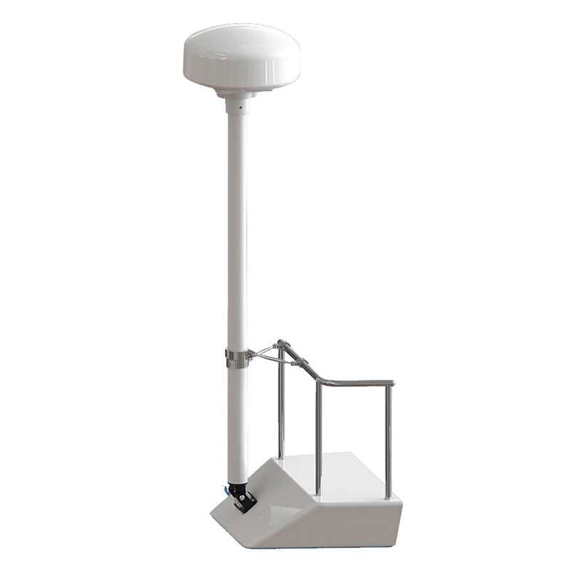 Seaview 8' Radar/Satdome Pole-Mount Kit with 1 Stand-Off Kit image number 1