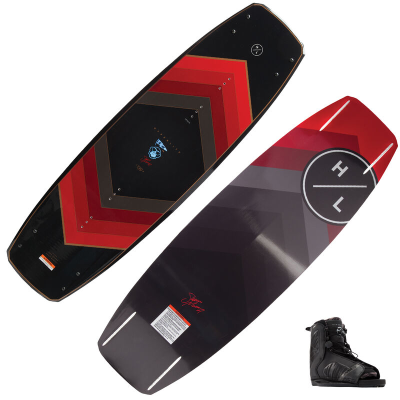 Hyperlite Murray 120 Wakeboard With Remix Bindings image number 1