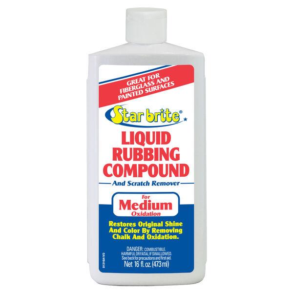 Star Brite Liquid Rubbing Compound For Medium Oxidation, 16 oz.