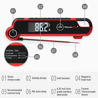ThermoPro TP-620 Digital Ultra-Fast Handheld Thermometer