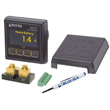 Blue Sea Systems M2 DC Ammeter OLED Digital Monitor