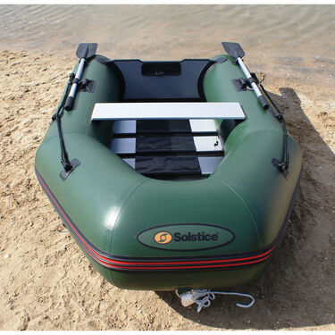 Solstice Sportster 3-Person Runbabout Inflatable Boat, Green