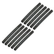 "Ancor Adhesive-Lined Heat Shrink Tubing, 20-12 AWG, 3"" L, 3-Pk., Black"