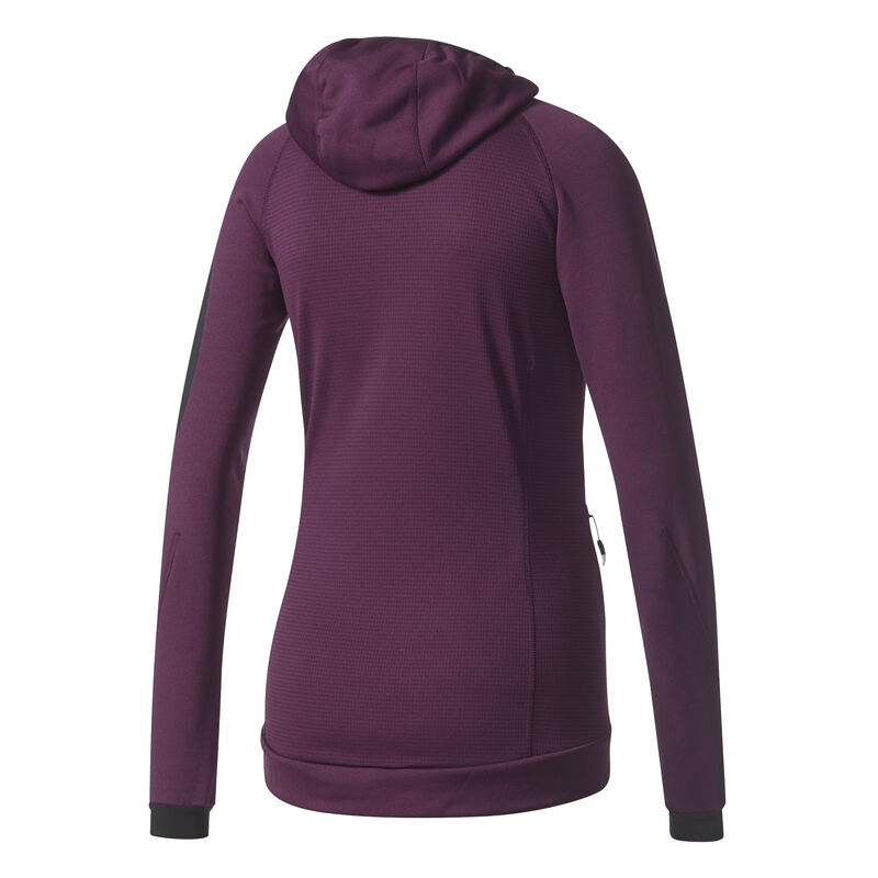 Adidas Women's Terrex Stockhorn Fleece Full-Zip Hoodie image number 14